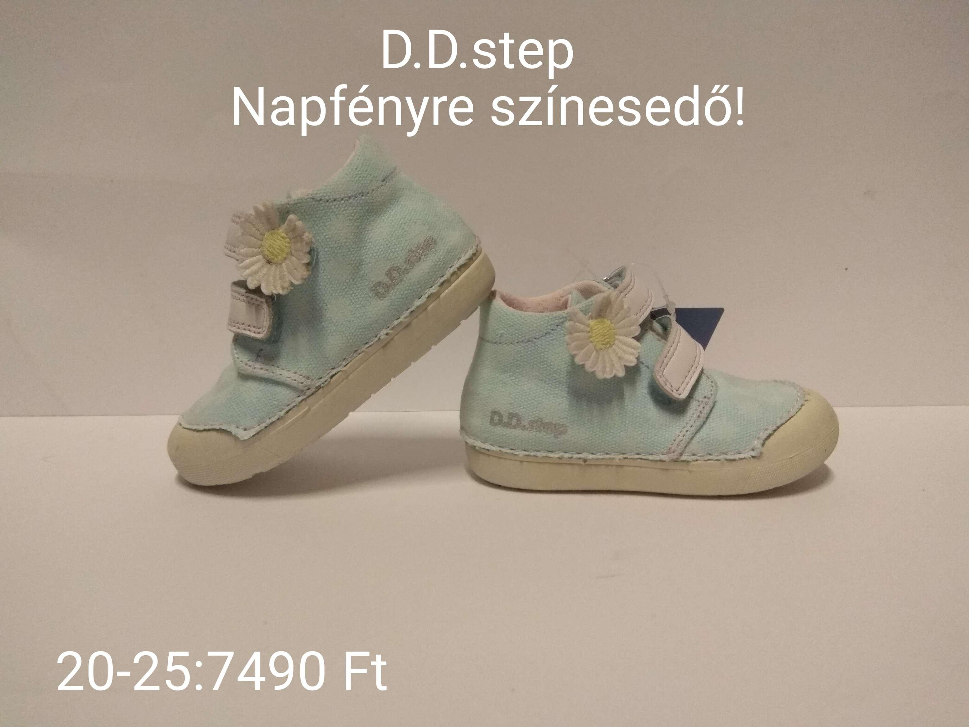 D.D.step fényre szinesedő vászon